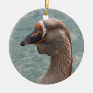 Toulouse Goose Ceramic Ornament