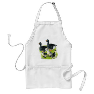 Toulouse Goose Family Adult Apron