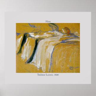 Toulouse-Lautrec Art Nouveau Poster