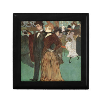Toulouse-Lautrec At the Rouge Keepsake Boxes