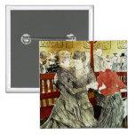 Toulouse-Lautrec - baile en el colorete Pin