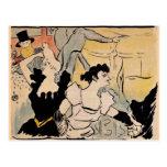 Toulouse-Lautrec, Bal del Au Tarjetas Postales