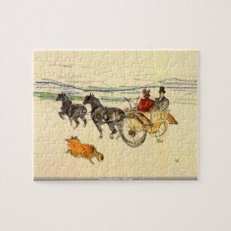 Toulouse-Lautrec - Carriage puzzle