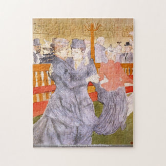 Toulouse-Lautrec - Dancing at the Rouge Jigsaw Puzzle