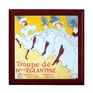 Toulouse-Lautrec Dancing Girls Poster Keepsake Box