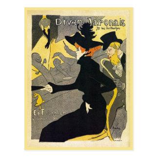 Toulouse Lautrec: Divan Japonais (music hall) Postcard
