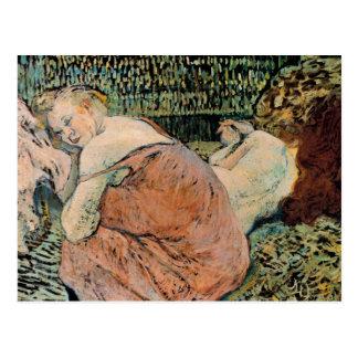 Toulouse-Lautrec: Dos amigos Postal