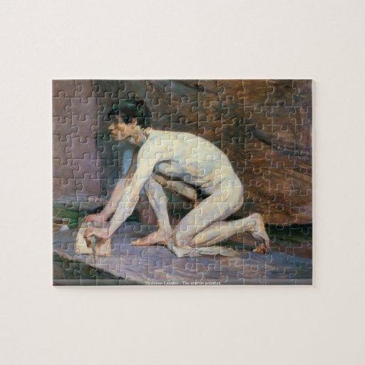 Toulouse-Lautrec - el rompecabezas de mármol del p