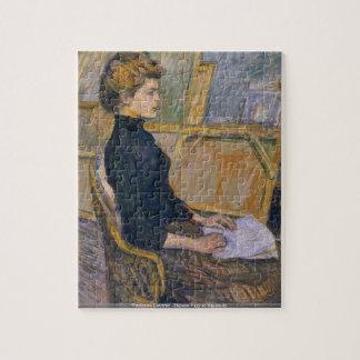 Toulouse-Lautrec - Elena varía en el rompecabezas