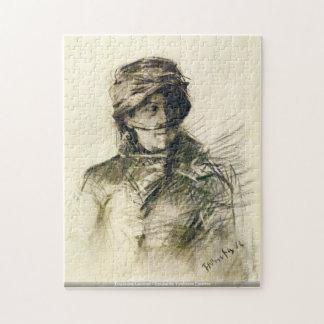 Toulouse-Lautrec-Emilie de Toulouse Lautrec puzzle