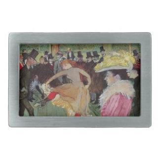Toulouse-Lautrec, en el colorete, hebilla del Hebillas De Cinturon Rectangulares