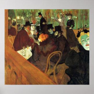 Toulouse-Lautrec - en el colorete Impresiones