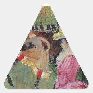 Toulouse-Lautrec, en el colorete, pegatina