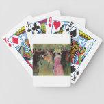 Toulouse-Lautrec, en el colorete, tarjetas Baraja