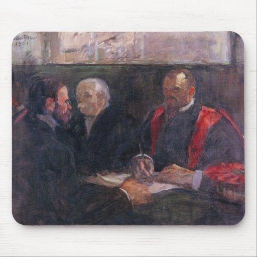 Toulouse-Lautrec - examen en la academia de m Tapete De Ratón