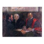 Toulouse-Lautrec - examen en la academia de m Postal