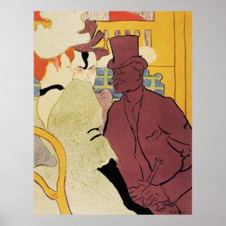 Toulouse-Lautrec - Flirt, An Englishman Poster