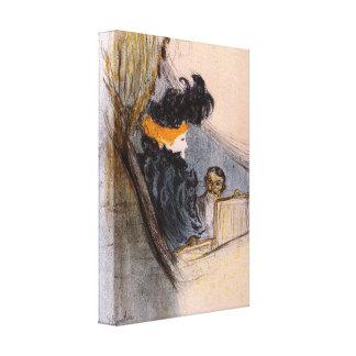 Toulouse-Lautrec - idilio de la primavera Impresión En Lienzo Estirada
