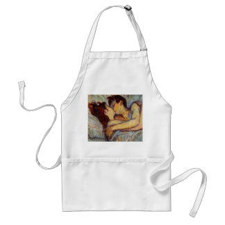 Toulouse-Lautrec In Bed The Kiss Apron