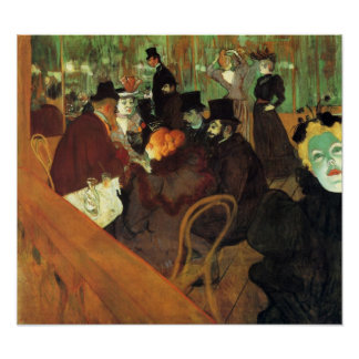Toulouse-Lautrec - In the Rouge Poster