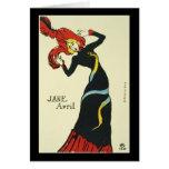 Toulouse-Lautrec Jane Avril Cards