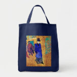 Toulouse Lautrec: Jane Avril Leaves the R. Canvas Bags