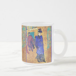 Toulouse Lautrec Jane Avril Leaves the R Mugs