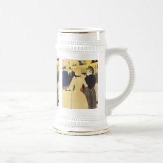Toulouse-Lautrec: La Goulue & Sister Beer Stein