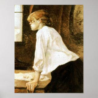 Toulouse-Lautrec - la lavandera Posters
