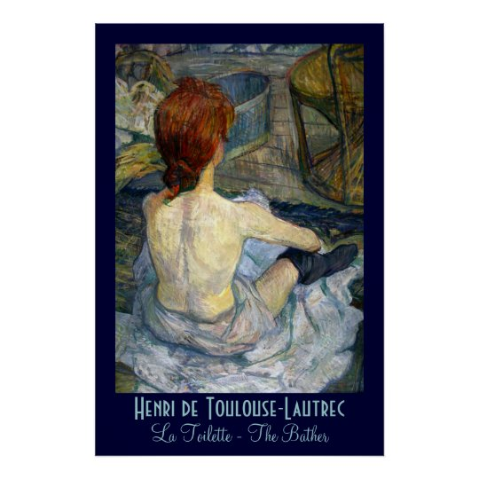 toulouse lautrec la toilette poster. Black Bedroom Furniture Sets. Home Design Ideas