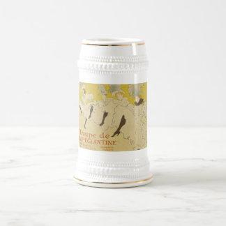 Toulouse Lautrec- La Troupe de Mlle Eglantine 1895 Beer Stein