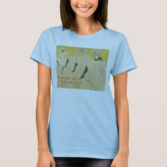 Toulouse Lautrec- La Troupe de Mlle Eglantine 1895 T-Shirt