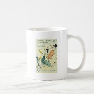 Toulouse-Lautrec La Vache Enragee Coffee Mug