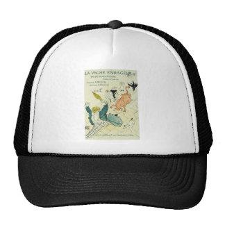 Toulouse-Lautrec La Vache Enragee Trucker Hat