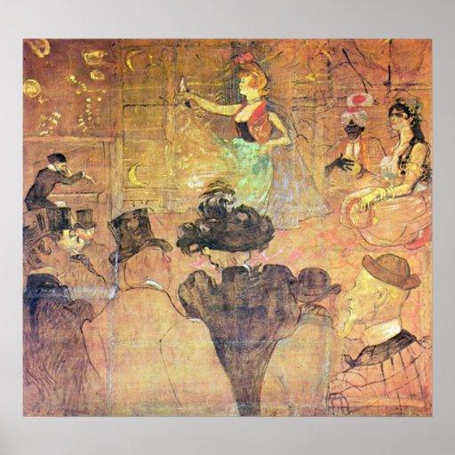 Toulouse-Lautrec - Mauri Dance Posters