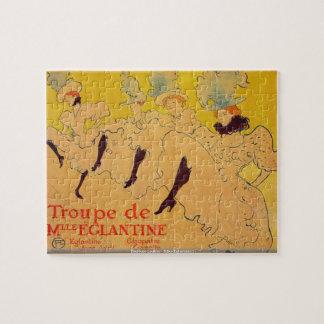 Toulouse-Lautrec - Mlles Eglantines 2 PUZZLE