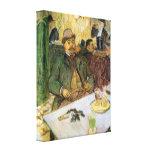 Toulouse-Lautrec - Mr Boileau Canvas Print