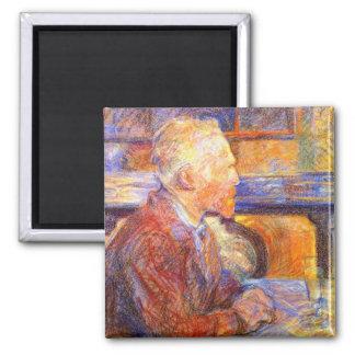 Toulouse-Lautrec Portrait of Van Gogh Magnet