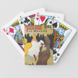 Toulouse Lautrec Poster Art Bicycle Poker Deck