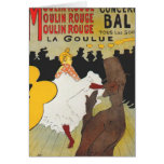 Toulouse Lautrec Poster Art Greeting Card
