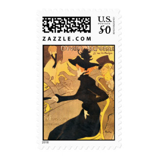 Toulouse Lautrec Poster Art Postage