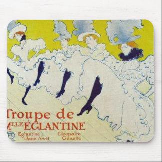 Toulouse Lautrec poster Mousepad