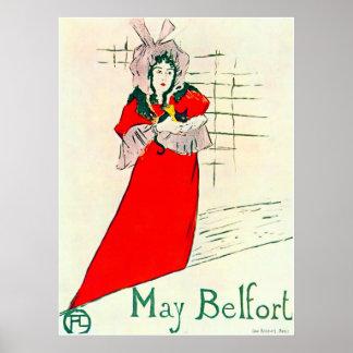 Toulouse-Lautrec puede el poster 1895 de Belfort