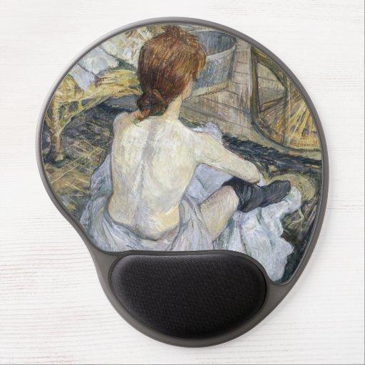 Toulouse-Lautrec - Rousse / Toilet Gel Mouse Pad