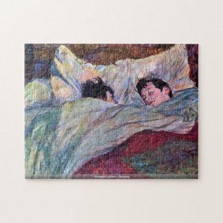 Toulouse-Lautrec - Sleeping puzzle
