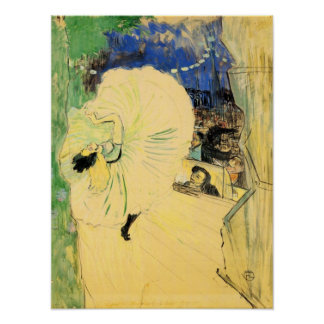 Toulouse-Lautrec - The coil Poster