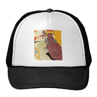 Toulouse-Lautrec - The english man at the R Trucker Hat
