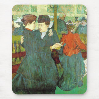 Toulouse  Lautrec    Two Women Waltzing Mouse Pad