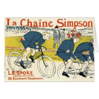Toulouse-Lautrec - Vintage Bicycle Art Card