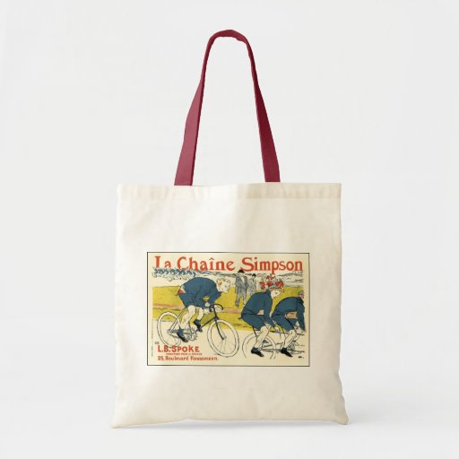 Toulouse-Lautrec - Vintage Bicycle Art Tote Bag